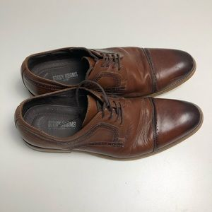 Stacy Adam's Brown Mens Dress Shoes Size 10.5